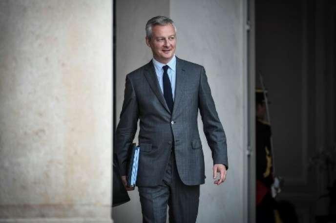 Le ministre de l'économie Bruno, Le Maire, le 31 août.