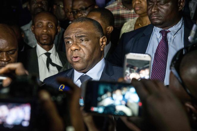 L'opposant congolais Jean-Pierre Bemba à Kinshasa, le 2 août 2018.