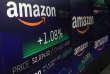 Le logo d'Amazon, au Nasdaq, à New York, le 4 septembre.