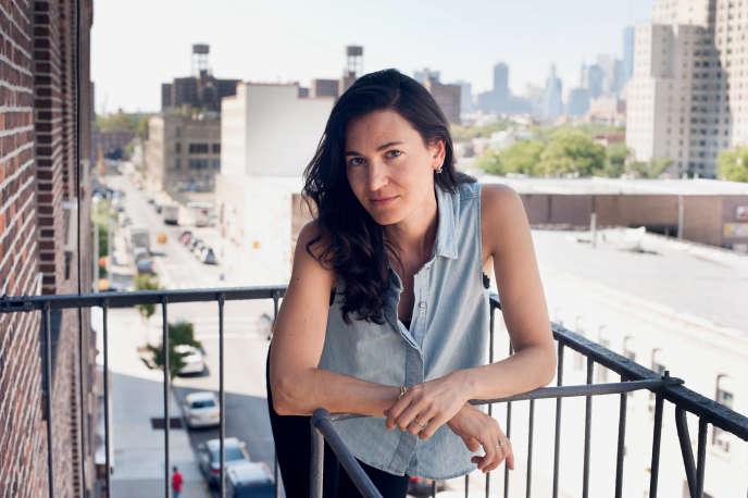 L'écrivaine américaine Nicole Krauss, en 2013.