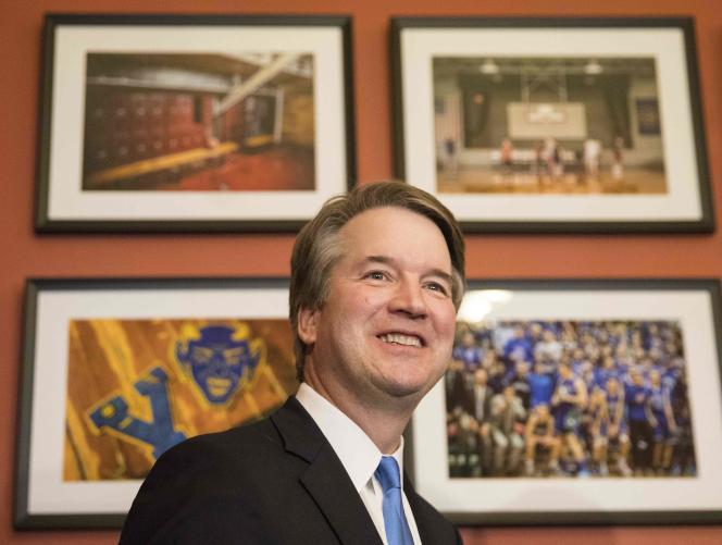Le candidat à la Cour suprême américaine, Brett Kavanaugh, à Washington, le 16 juin.