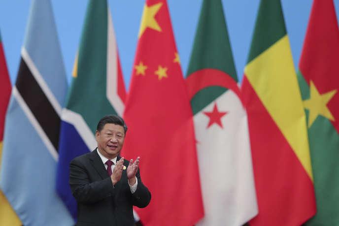 Le président Xi Jinping au forum sino-africain organisé à Pékin, le 4 septembre.