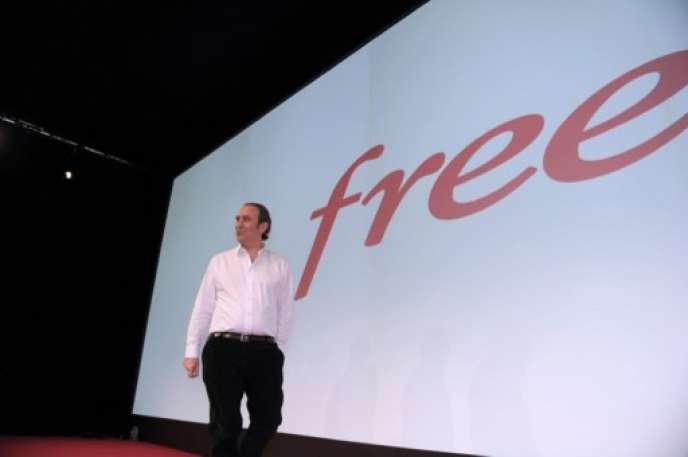 Xavier Niel, fondateur de Free, en 2015.