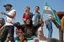 Manifestation contre le régime à Maarat Al-Nouman, le 31 août.