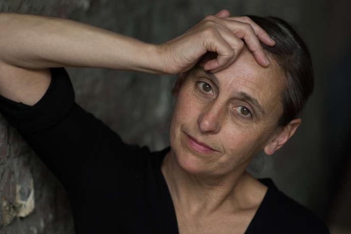 Anne Teresa De Keersmaeker à Bruxelles, en 2016.
