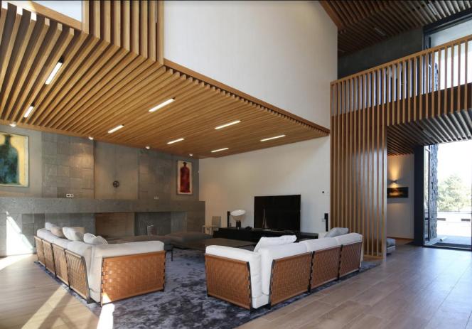 Georgie, villa privée. Avec l'aimable autorisation de : Architectural studio 109 Degree - Tengiz Kvantaliani