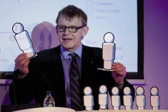 Encensé par Bill Gates, «Factfulness» est le livre posthume du professeur Hans Rosling (ici en 2012).