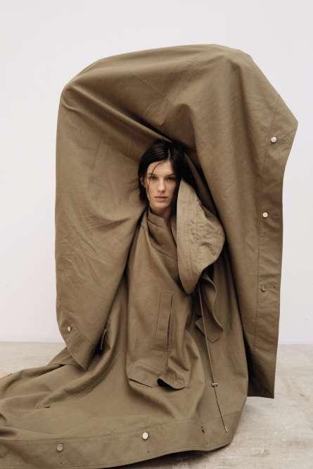Cape oversized homme en coton, Lacoste.