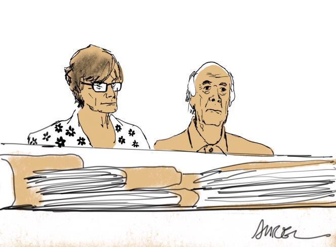 Les parents de Clément Méric, le jeune antifasciste mort après une rixe avec des skinheads d'extrême droite le 5 juin 2013.