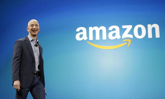 Le patron et fondateur d'Amazon, Jeff Bezos, à Seattle (Etat de Washington), en juin 2014.