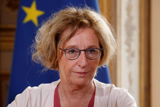 La ministre du travail, Muriel Pénicaud, à l'Elysée le 5 septembre.