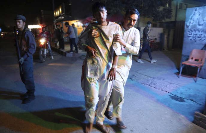La première explosion s'est produite vers 18 heures mercredi 5 septembre dans le quartier chiite de Dashte Barchi, dans l'ouest de la capitale.