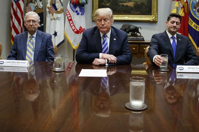 Donald Trump, mercredi 5 septembre à la Maison Blanche.