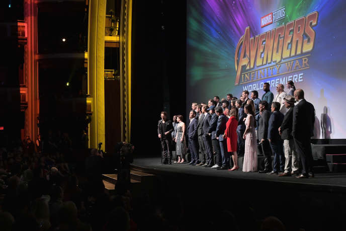 « Avengers : Infinity War », la dernière saga des super-héros Marvel, a suscité un très large engouement, engrangeant 678,7 millions de dollars aux Etats-Unis depuis sa sortie, le 27 avril.