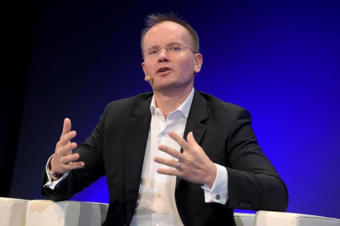 Markus Braun, le patron de Wirecard, au Paris Fintech Forum, le 30 janvier.