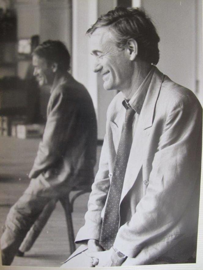 L'écrivain et réalisateur Alain Jaspard.