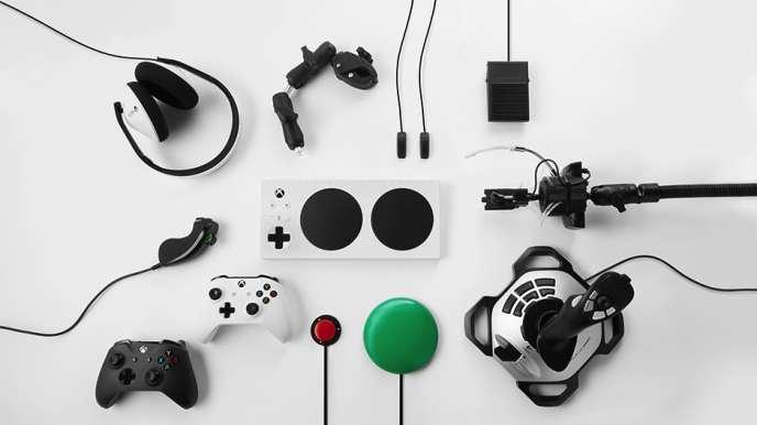 La manette Xbox adaptative.
