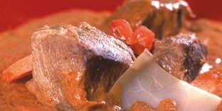 Le Mafé bœuf d'Alexandre Bella Ola est une recette issue de «Cuisine actuelle de l'Afrique noire» (édition First)