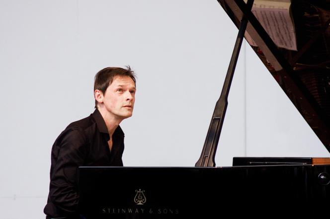 Le pianiste François Chaplin.