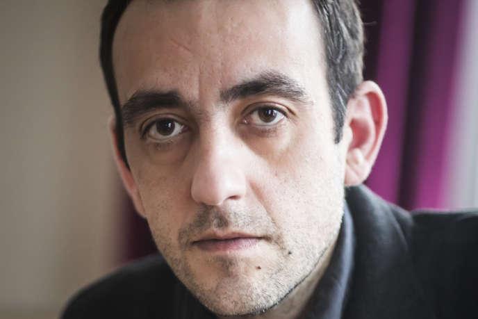L'écrivain Jérôme Ferrari.