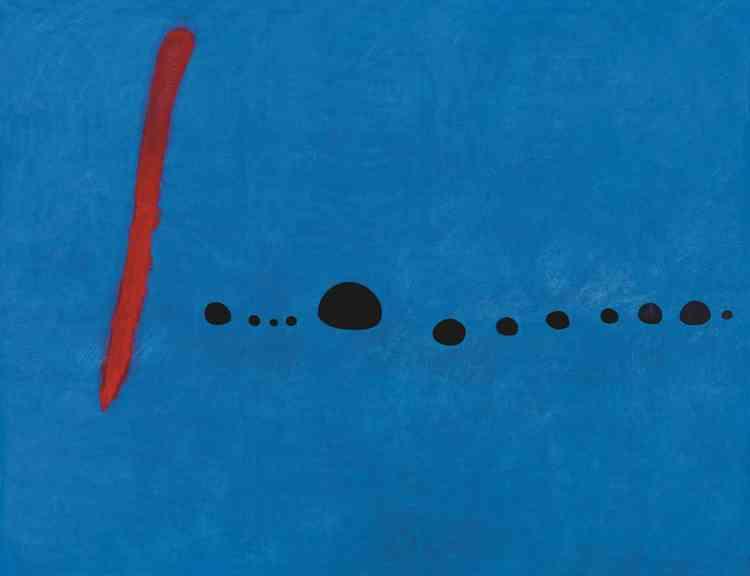 Cette série ‒ qui comporte trois tableaux et de nombreuses esquisses griffonnées à l'encre et au crayon‒ constitue l'une des premières œuvres monumentales réalisées en 1961, et conçues un an avant, dans son atelier de Palma de Majorque aux Baléares.