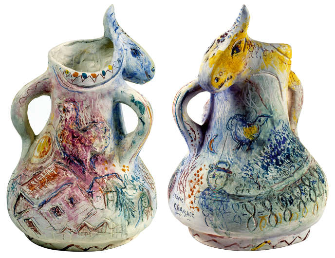 « L'Ane bleu » (1954), de Marc Chagall.