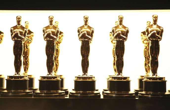 Des statuettes des Oscars en 2017.