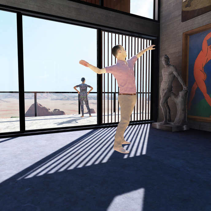 « VR_I», de Gilles Jobin.