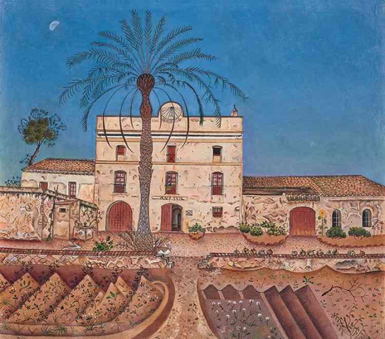Dans ses premières œuvres, Joan Miro noue des liens intimes avec le figuratif où chaque détail est peint avec un soin, et un attachement, particulier.