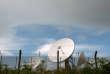 Des antennes du GCHQ dans le sud-est de l'Angleterre, en juin2013.