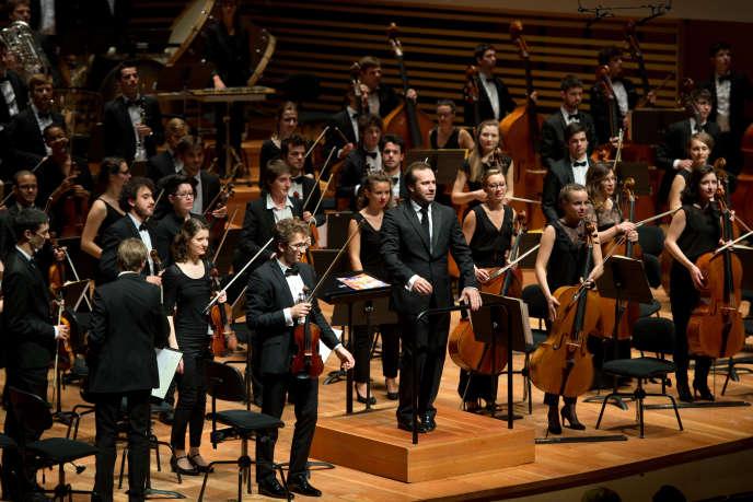 L'Orchestre français des jeunes (OFJ), dirigé par Fabien Gabel.