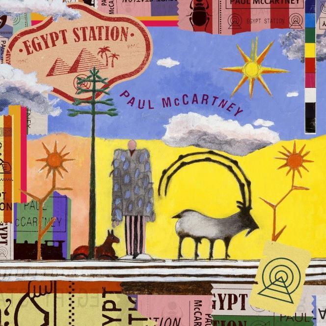 Pochette de l'album« Egypt Station», de Paul McCartney.