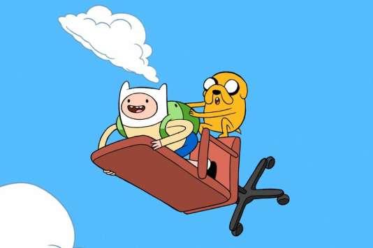 Comment le dessin anim adventure time est devenu culte - Dessin anime de corneil et bernie ...
