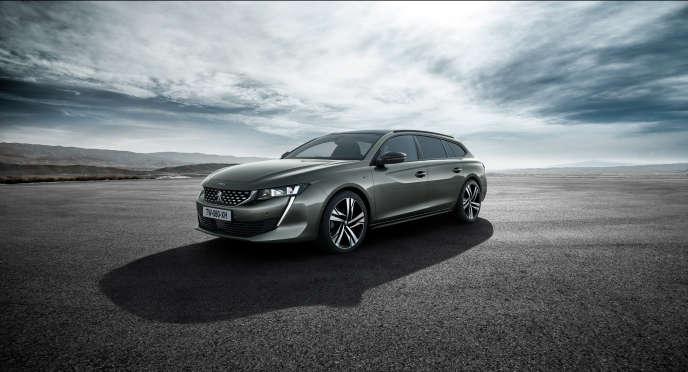 Le nouveau break Peugeot 508 SW sera présentéau Mondial de l'automobile, qui se déroule du 4 au 14octobre, à Paris.