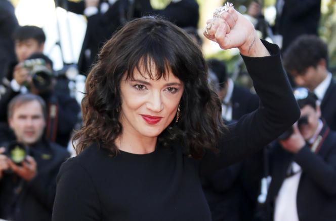 Asia Argento au 71e Festival de Cannes, le 19 mai.