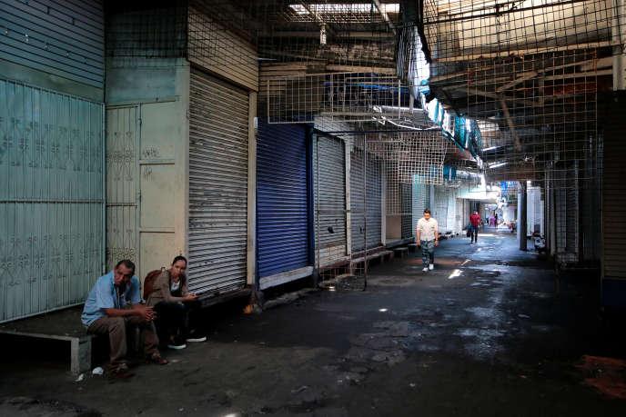 Le marché oriental de Managua est d'ordinaire le plus populaire et le plus fréquenté de la capitale du Nicaragua.