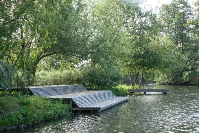 « Le Jardin des rives», du Studio Basta.