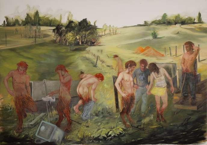 «Le Dimanche des faunes», de Brigitte Aubignac.