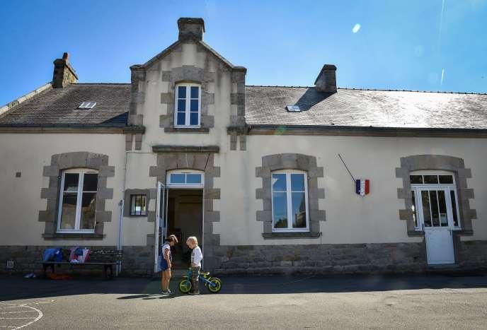 Rentrée scolaire dans une école primaire de Guérande (Loire-Atlantique), le 7 septembre.