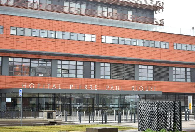 Façade d'un des établissements duCHU de Toulouse.