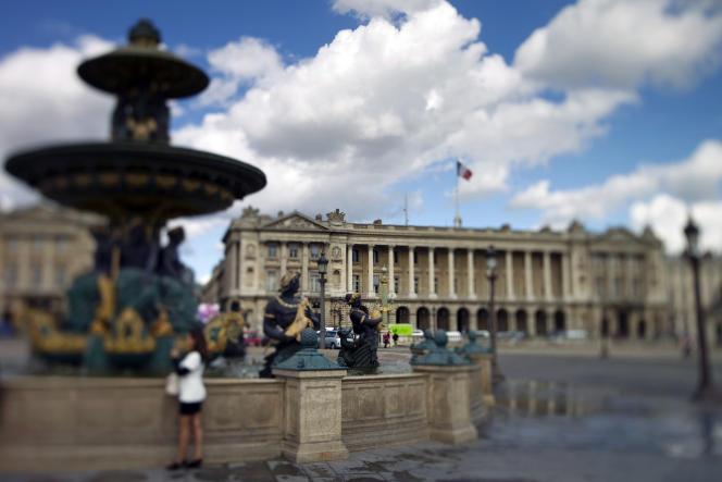 L'hôtel de la Marine, place de la Concorde à Paris, le 19 septembre 2011.