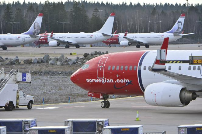 Norwegian compte se séparer de Boeing déjà en exploitation (ici à Stockholm) et de 90 Airbus A320 Neo en commande.