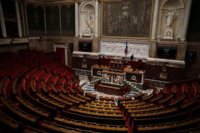 A l'Assemblée nationale, le 5 juillet 2016.