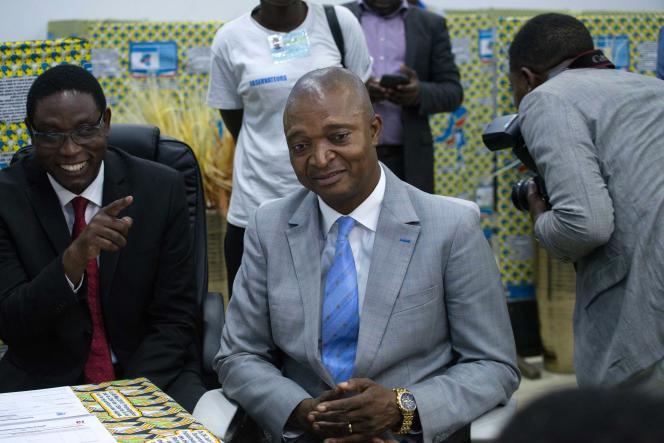 Le « dauphin» de Joseph Kabila, Emmanuel Ramazani Shadary, à Kinshasa, en août 2018.