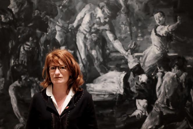 Muriel Mayette-Holtz a été nommée à la tête de la Villa Médicis, le 3 septembre 2015.