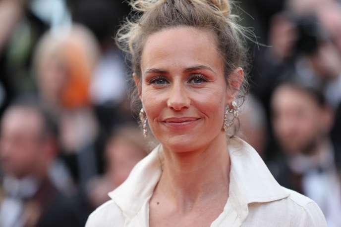 L'actrice Cécile de France au 71e Festival de Cannes, le 8 mai 2018.