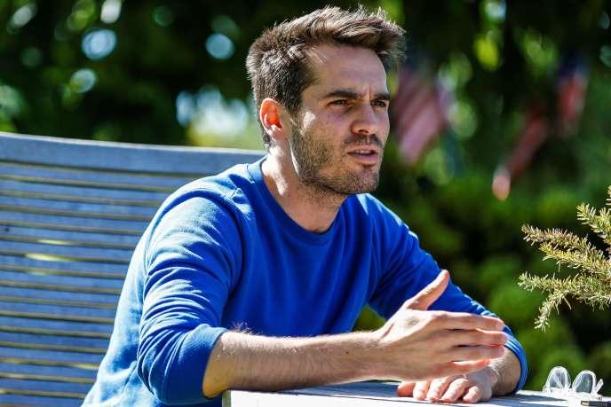 L'acteur, réalisateur et producteur Jim Cummings au Festival du film américain de Deauville, le 7 septembre 2018.