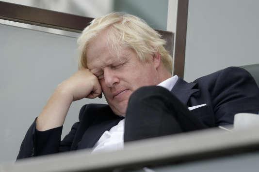 Boris Johnson, samedi 8 septembre, à Londres.