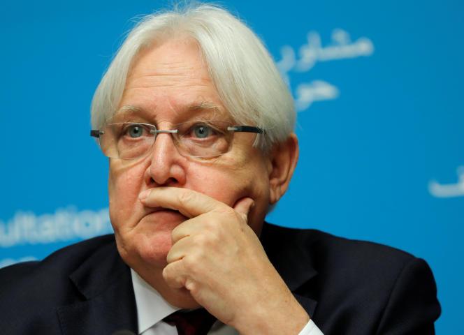 Le médiateur de l'ONU dans le conflit au Yémen, Martin Griffiths, le 8 septembre à Genève.