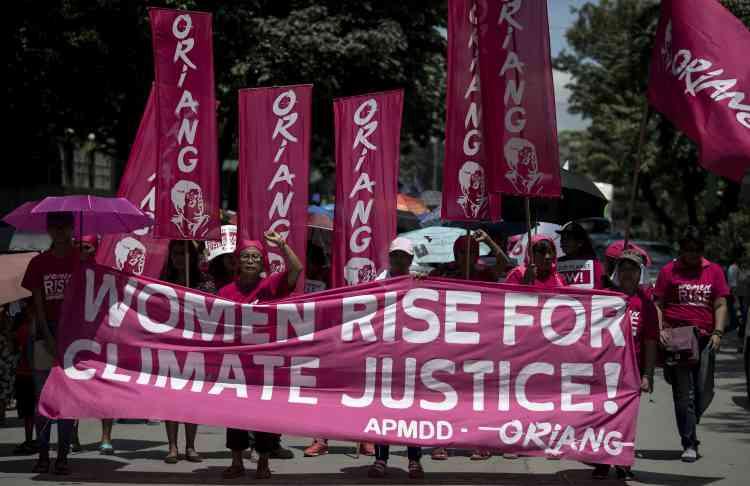 En Asie, c'est à Manille que la mobilisation avait été la plus forte, avec 800 manifestants.